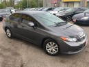 Used 2012 Honda Civic LX for sale in Pickering, ON
