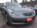 Used 2007 Infiniti G35 Luxury for sale in Scarborough, ON