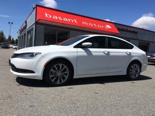 Used 2015 Chrysler 200 S, Push to Start, Power Windows/Locks!! for sale in Surrey, BC