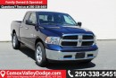 New 2017 Dodge Ram 1500 SLT KEYLESS ENTRY, BACK UP CAMERA, BLUETOOTH for sale in Courtenay, BC