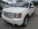 Used 2012 GMC Sierra 1500 LOADED SLT MODEL 5 PASSENGER 5.3L - V8.. 4X4.. CREW.. SHORTY.. LEATHER.. HEATED SEATS.. BOSE AUDIO.. AUX/USB INPUT.. for sale in Bradford, ON