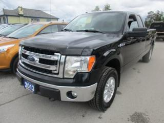 Used 2013 Ford F-150 READY TO WORK XLT MODEL 6 PASSENGER 5.0L - V8.. 4X4.. EXT-CAB.. 8 FOOT BOX.. SYNC TECHNOLOGY.. KEYLESS ENTRY.. for sale in Bradford, ON