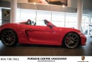 Used 2016 Porsche Boxster SPYDER for sale in Vancouver, BC