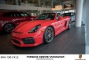 Used 2016 Porsche Boxster Spyder Porsche Approved Certified for sale in Vancouver, BC