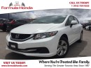 Used 2013 Honda Civic LX | HEATED SEATS | BLUETOOTH | LOW KM! - FORMULA for sale in Scarborough, ON