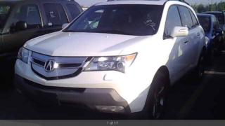 Used 2008 Acura MDX Elite Pkg for sale in York, ON