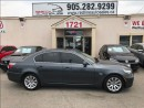 Used 2008 BMW 528 i, Sunroof, Leather, WE APPROVE ALL CREDIT for sale in Mississauga, ON