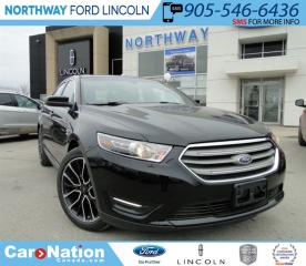 Used 2017 Ford Taurus SEL | LTHR | NEW VEHICLE | for sale in Brantford, ON