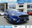 Used 2017 Ford Fusion V6 Sport | NEW VEHICLE | BLIS | for sale in Brantford, ON
