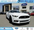 Used 2017 Ford Mustang GT | LTHR | NEW VEHICLE | for sale in Brantford, ON