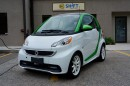 Used 2014 Smart fortwo electric drive passion $39/WEEK! FULL ELECTRIC, PANO ROOF, NAV for sale in Burlington, ON