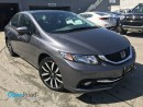 Used 2014 Honda Civic Sedan Touring A/T No Accident One Owner Local Bluetooth Leather Sunroof USB HDMI AUX Line Watching Cam TCS for sale in Port Moody, BC