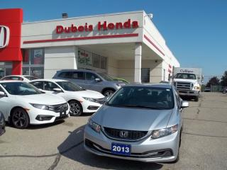 Used 2013 Honda Civic LX for sale in Woodstock, ON