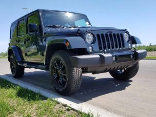 New 2017 Jeep Wrangler Unlimited Smoky Mountain / GPS Navigation / Heated Front Seats for sale in Edmonton, AB