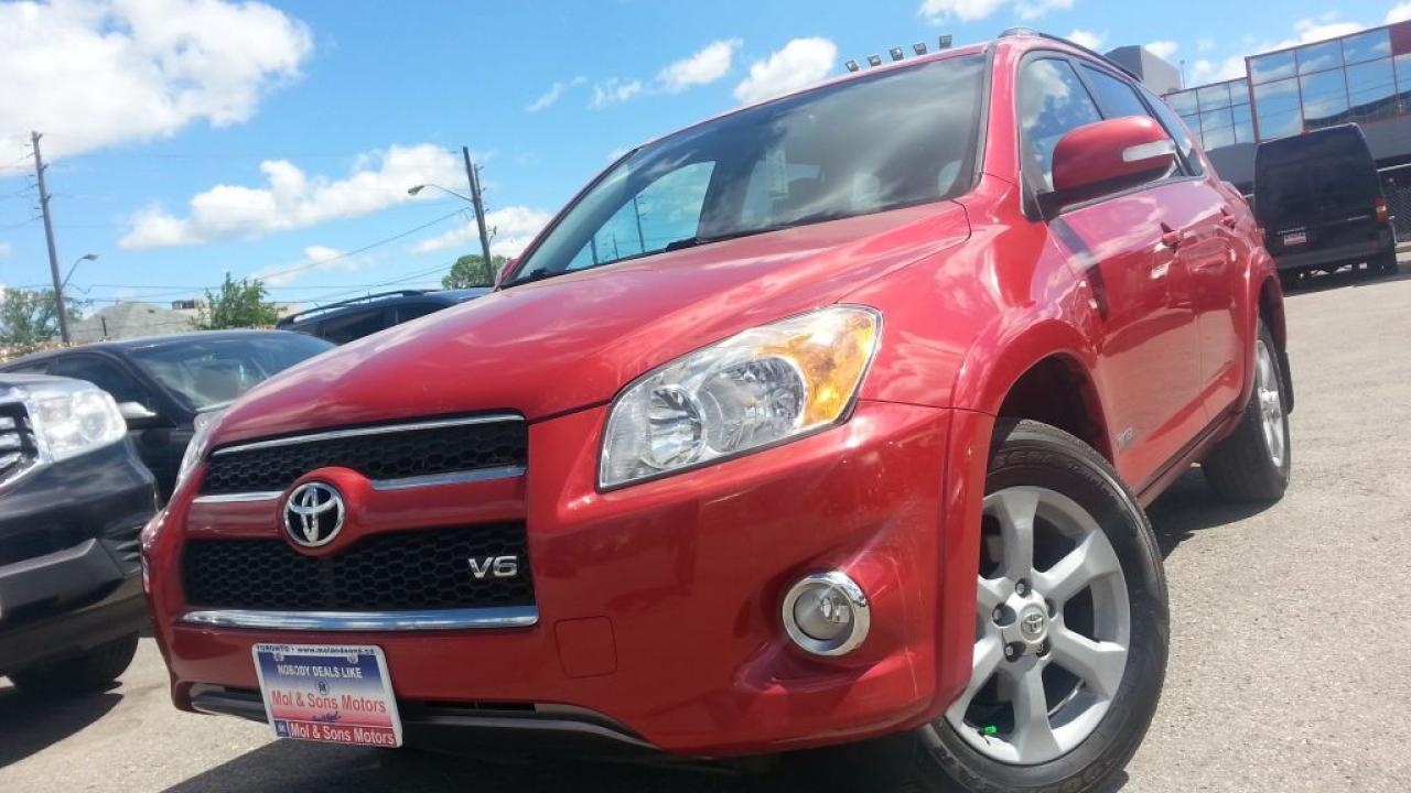2010 Toyota RAV4 /V6/AWD/LEATHER/BACK-UP CAM/S-ROOF