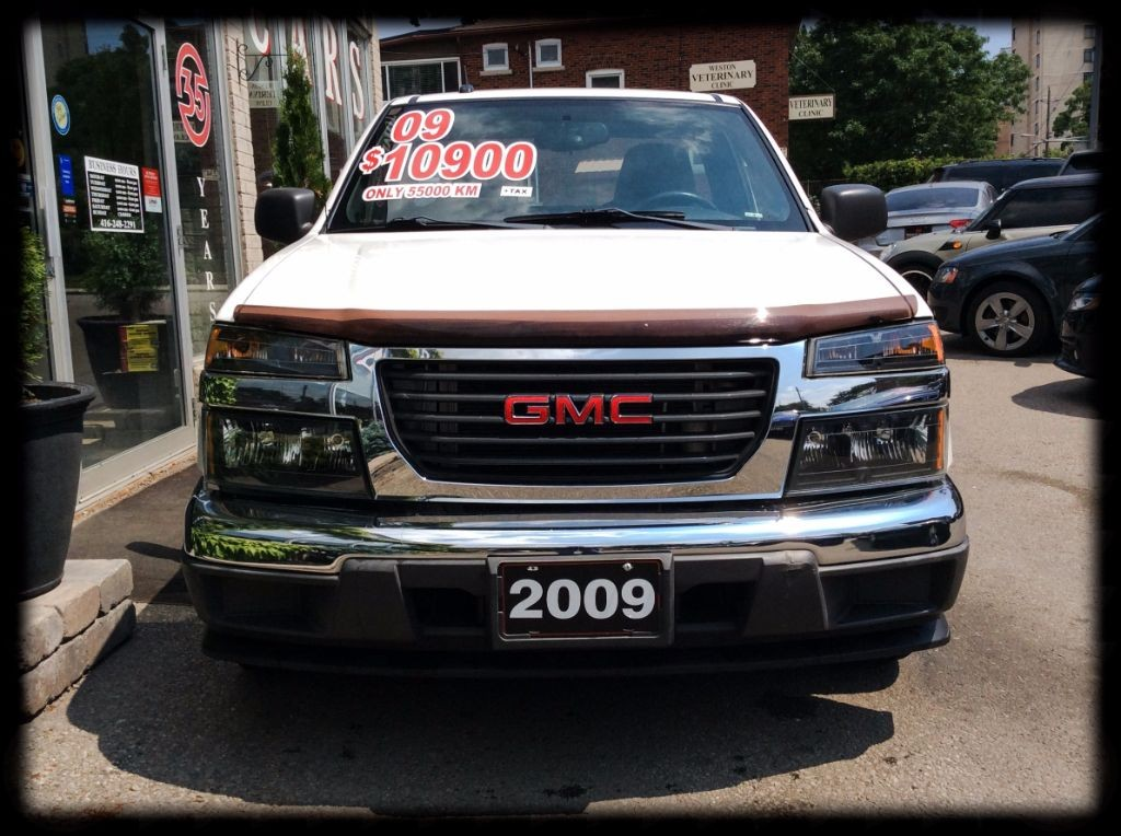 used 2009 gmc canyon sle 4 cyl auto low km for sale in york ontario. Black Bedroom Furniture Sets. Home Design Ideas