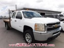 Used 2011 Chevrolet 3500 SILVERADO WT CREW FLAT DECK 4WD 6.0L for sale in Calgary, AB