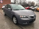 Used 2008 Mazda MAZDA3 ONE OWNER - NO ACCIDENT - SAFETY INCLUDED for sale in Cambridge, ON