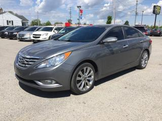 Used 2013 Hyundai SONATA LIMITED * FULLY LOADED * LEATHER * 1OWNER * NAV * REAR CAM * SUNROOF for sale in London, ON