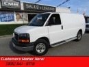 Used 2015 GMC Savana Cargo Van 1WT  CHROME GRILLE & BUMPERS! CRUISE! POWER GROUP! for sale in St Catharines, ON