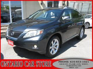 Used 2010 Lexus RX 350 AWD ULTRA PREMIUM PKG. for sale in Toronto, ON