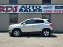 Used 2014 Chevrolet Trax LT 1 OWNER,ONLY 36000KM. for sale in Hamilton, ON