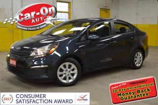 Used 2016 Kia Rio LX+ AUTO A/C ONLY 19,000 KM for sale in Ottawa, ON
