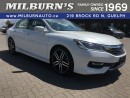 Used 2016 Honda Accord Sedan Touring for sale in Guelph, ON