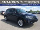 Used 2016 Volkswagen Tiguan COMFORTLINE for sale in Guelph, ON