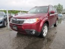 Used 2009 Subaru Forester LIMITED AWD / LOCAL ONTARIO CAR for sale in Newmarket, ON