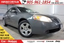 Used 2009 Pontiac G6 PRE-CONSTRUCTION SALE| 2.4L| SE| POWER GROUP| for sale in Mississauga, ON