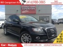Used 2014 Audi Q5 2.0Komfort|ALL WHEEL DRIVE|LEATHER|HEATED SEATS for sale in Georgetown, ON