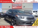 Used 2015 Kia Forte 2.0L SX | NAVI | LEATHER | ROOF | BACK UP CAM | for sale in Georgetown, ON