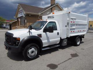 Used 2009 Ford F-550 XL 6.4L Diesel HAUL ALL M1400 Garbage Dump Box for sale in Etobicoke, ON