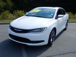 Used 2016 Chrysler 200 S PACK!!  FULLY LOADED!!!! LOW KM!!! for sale in Halifax, NS