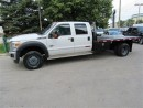 Used 2015 Ford F-550 Crew Cab 4x4 diesel with 11 ft  flat deck for sale in Richmond Hill, ON