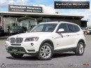 Used 2013 BMW X3 28i X-DRIVE |PANO|BLUETOOTH|1 OWNER|NO ACCIDENT for sale in Scarborough, ON