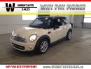 Used 2013 MINI Cooper SUNROOF|LEATHER|HEATED SEATS|83,480 KMS for sale in Cambridge, ON