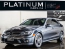 Used 2010 Mercedes-Benz C-Class C63 AMG, 450HP, NAVI for sale in North York, ON