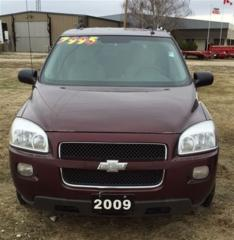 Used 2009 Chevrolet Uplander LS for sale in Brunkild, MB