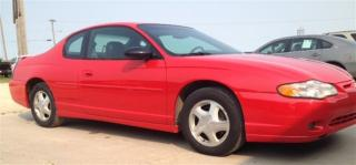 Used 2000 Chevrolet Monte Carlo SS for sale in Brunkild, MB