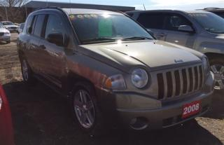 Used 2008 Jeep Compass Sport/North for sale in Brunkild, MB