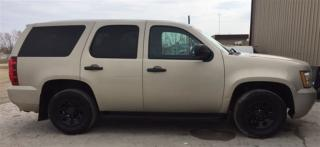 Used 2011 Chevrolet Tahoe Police Pursuit Vehicle for sale in Brunkild, MB