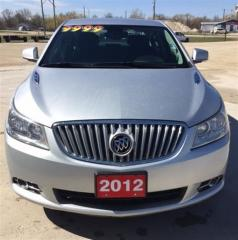 Used 2012 Buick LaCrosse CLX for sale in Brunkild, MB