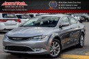 Used 2015 Chrysler 200 C|SafetyTec,Sun/Sound,PremiumPkgs|Sunroof|Nav|BackUpCam|ACC|17