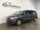 Used 2016 Chrysler Town & Country TOURING- REM START! LEATHER! DVD! PWR TRUNK! for sale in Belleville, ON