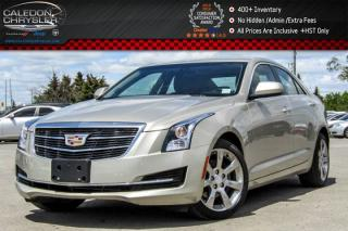 Used 2015 Cadillac ATS Sedan AWD|Backup Cam|Bluetooth|Leather|Heated Front Seats|Keyless Go|17