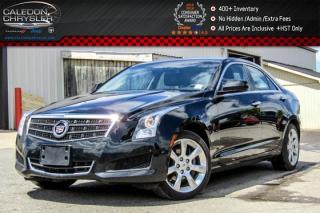 Used 2014 Cadillac ATS Sedan AWD|Backup Cam|Bluetooth|Leather|Heated Front Seats|Keyless Go|17