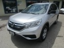 Used 2015 Honda CR-V POWER EQUIPPED LX MODEL 5 PASSENGER 2.4L - DOHC.. HEATED SEATS.. CD/AUX/USB INPUT.. ECON-BOOST PACKAGE.. for sale in Bradford, ON