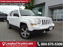 Used 2016 Jeep Patriot Sport/North W/ 4X4, LEATHER UPHOLSTERY & NAVIGATION for sale in Surrey, BC